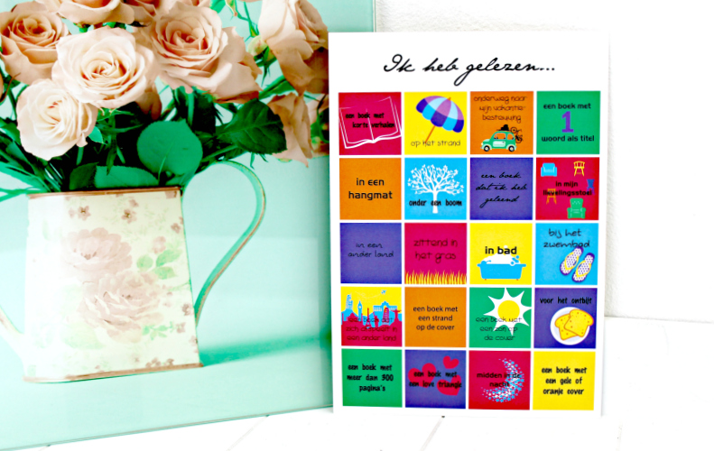 Bingokaart Celebrate Books