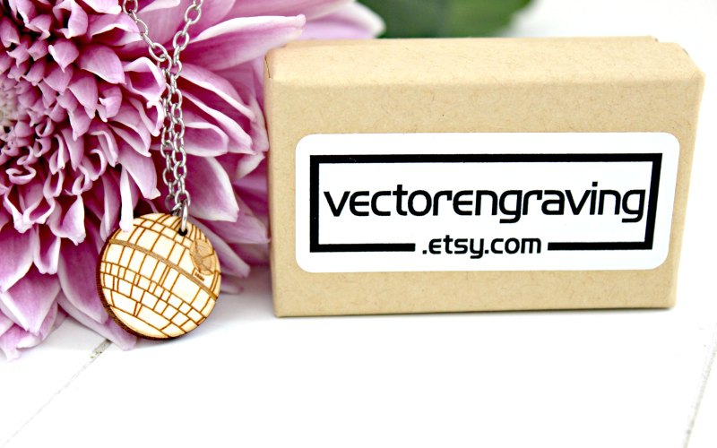 IMG_1609 - Death Star necklace from Vector Engraving