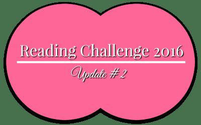 Reading Challenge Update #2