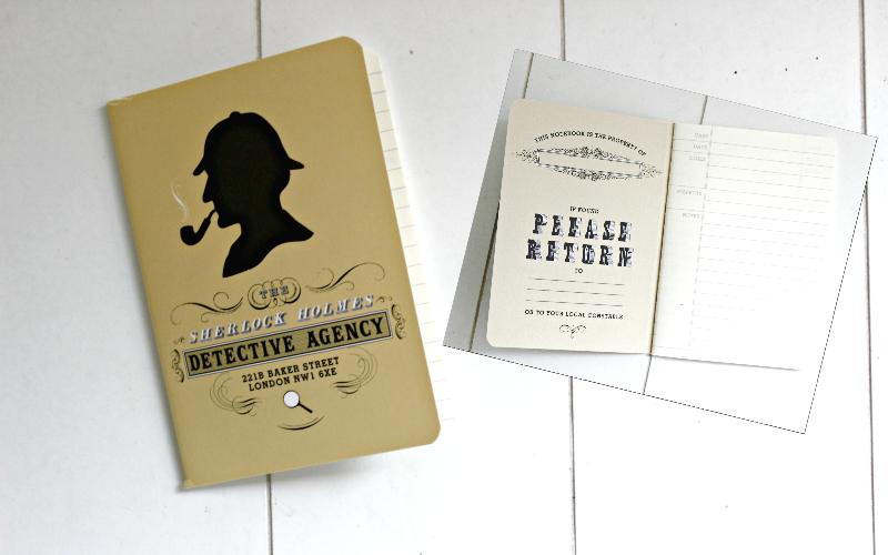 Bookly Bird - Passport Notebook Sherlock Holmes