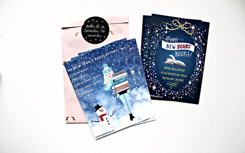 Celebrate Books - December box - Kaarten