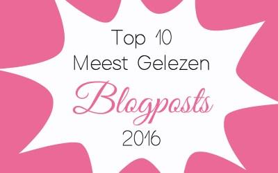 Top 10 Meest Gelezen Blogposts uit 2016