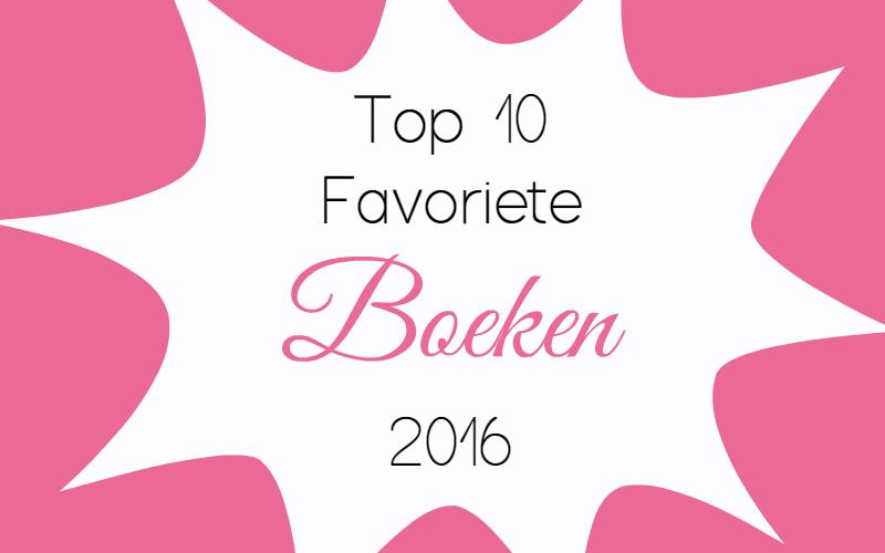 Top 10 favoriete boeken uit 2016