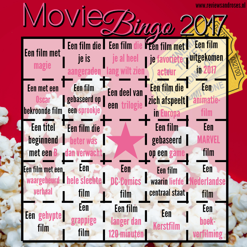 Movie Bingo Challenge 2017