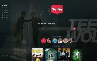 Telfie | Het social network voor entertainment
