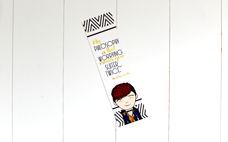 Newt Scamander Bookmark by Jane's Tiny Things
