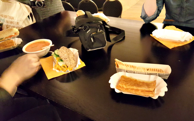 Lunch bij Yalfest 2017