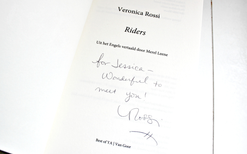 Veronica Rossi - Riders