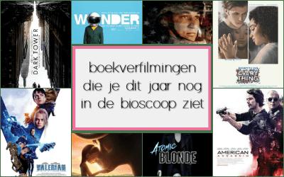 8 Boekverfilmingen die je dit jaar nog in de bioscoop ziet