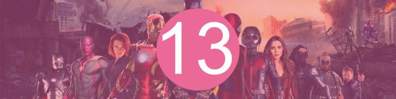 13 - Avengers