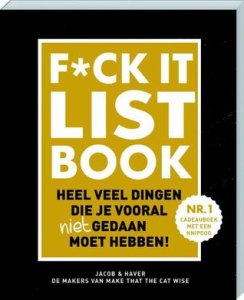 Boekrecensie | F*CK-it list book