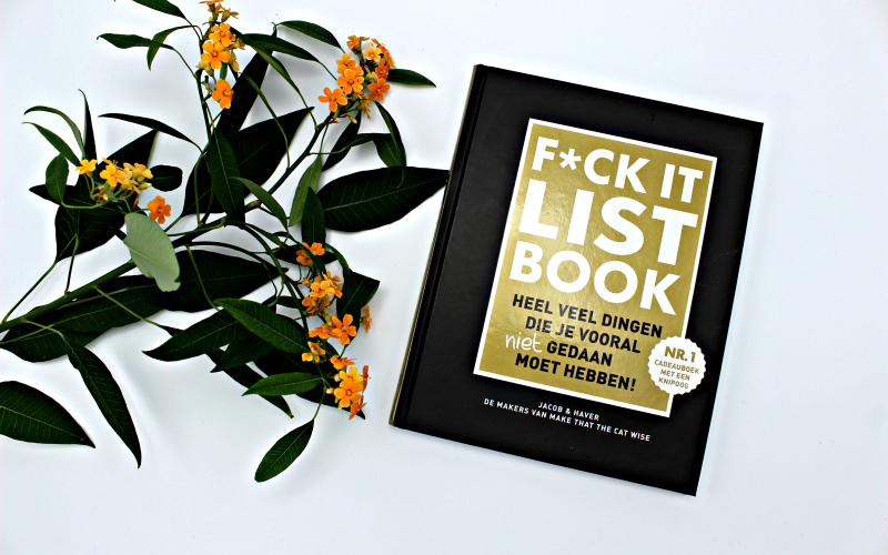 FCK-it list book