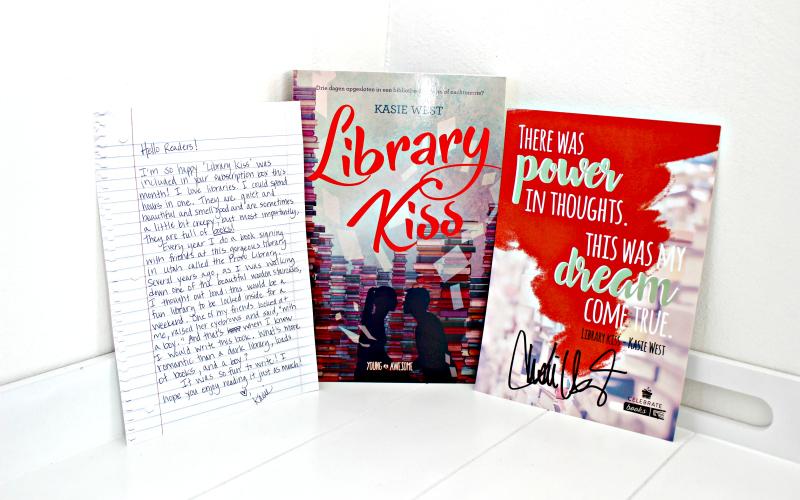 Library Kiss - Kasie West