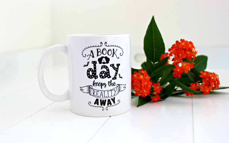 Mok A book a day keeps the reality away