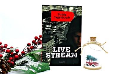 Boekrecensie | Livestream – Buddy Tegenbosch