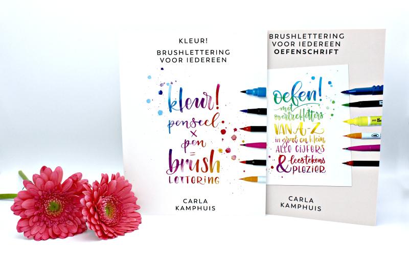 Brushlettering voor iedereen - Carla Kamphuis