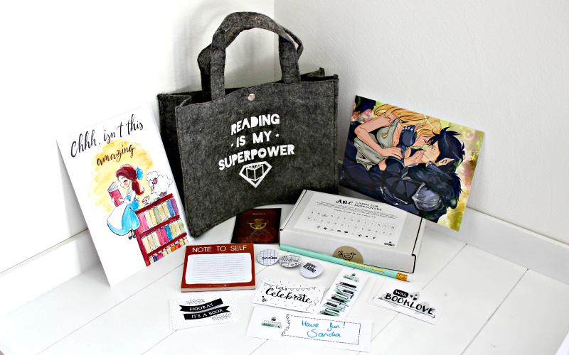 Celebrate Books - Valentine Box for Booklovers