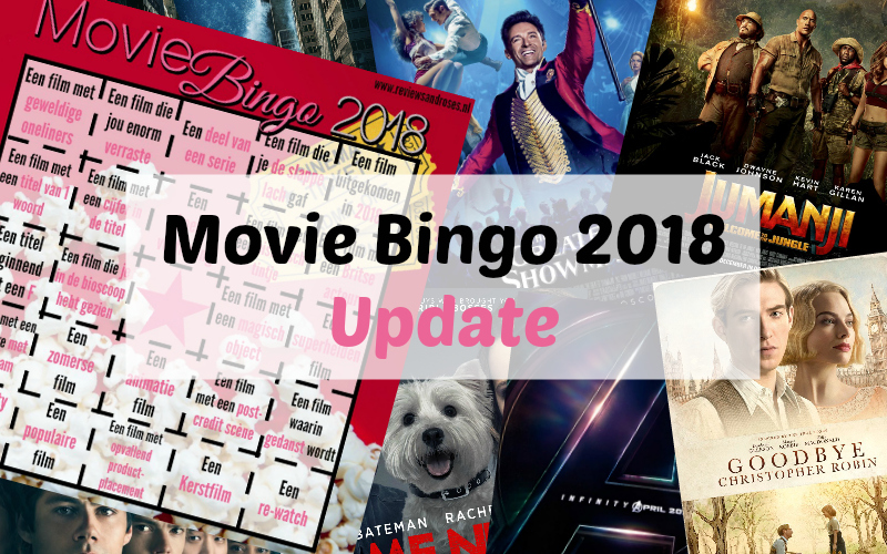 Movie Bingo 2018 update