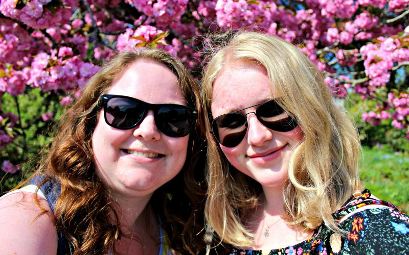 Katja en Jessica