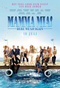 Mamma Mia Here We Go Again poster