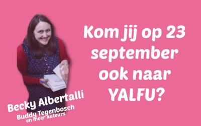 Kom jij ook naar het Young Adult event YALFU?
