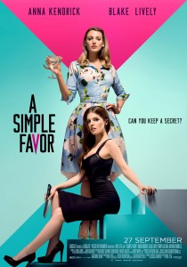 A SIMPLE FAVOR final poster_70x100