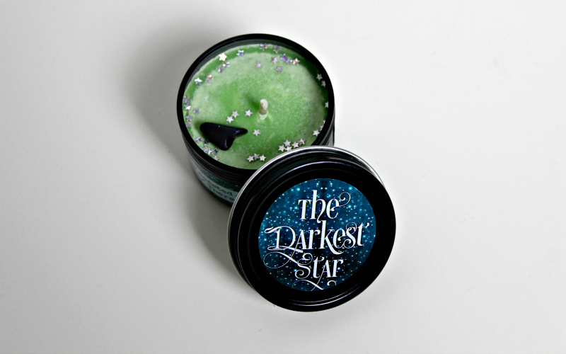 The Darkest Star candle