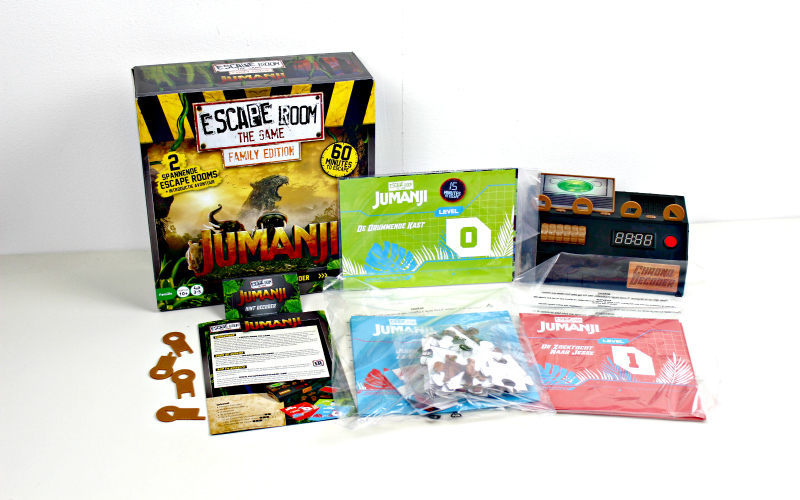 Spellen Spotlight #1 | Escape Room The Game: Jumanji Family Edition