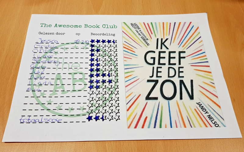 The Awesome Book Club - Ik geef je de zon
