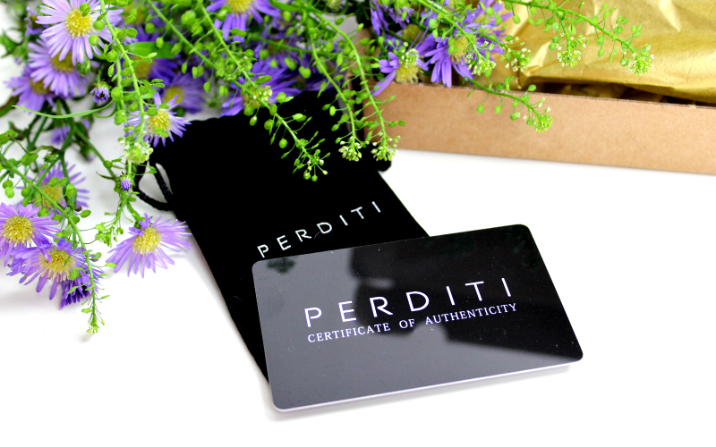 Perditi Certificate of Authenticity
