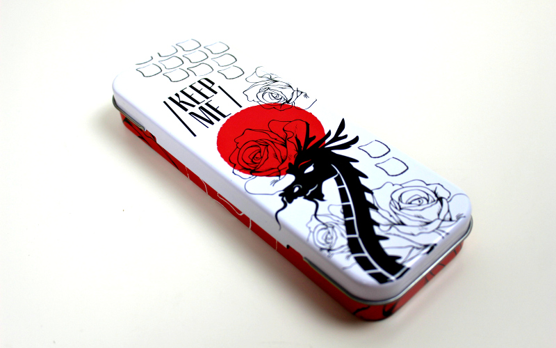 Keep Me Bookmark Case