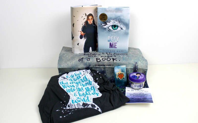 Unboxing | The Bookish Box – Defy Me box