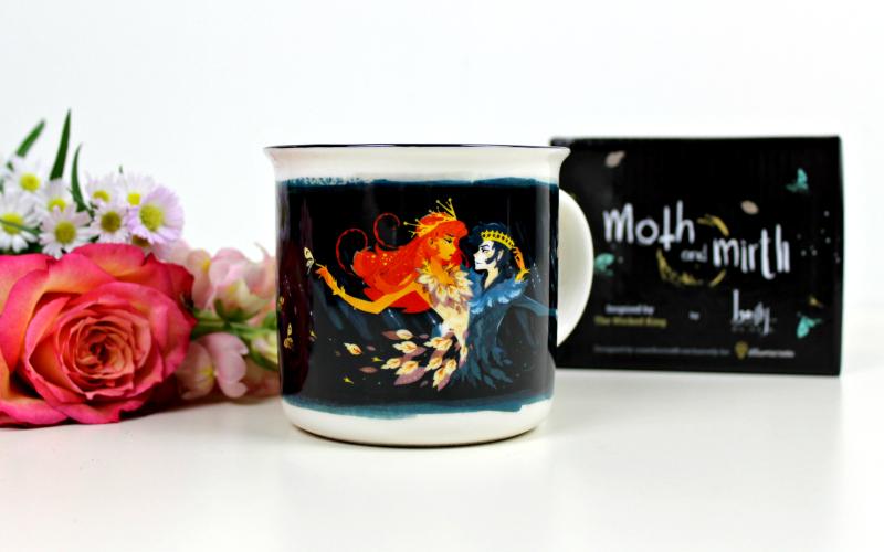 Moth and Mirth Mug