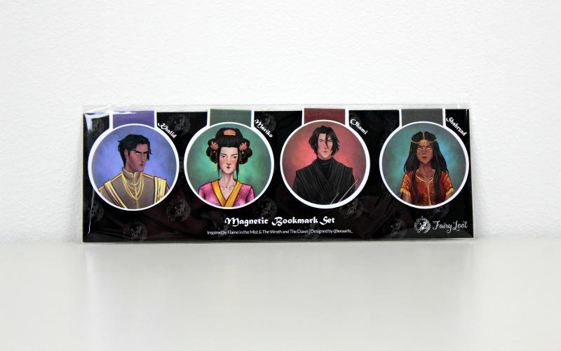 Magnetic Bookmark Set