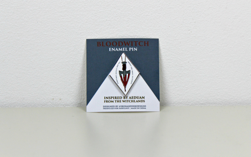 Bloodwitch Enamel pin