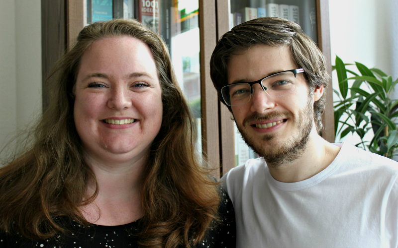 Jessica en Jeroen van Unen