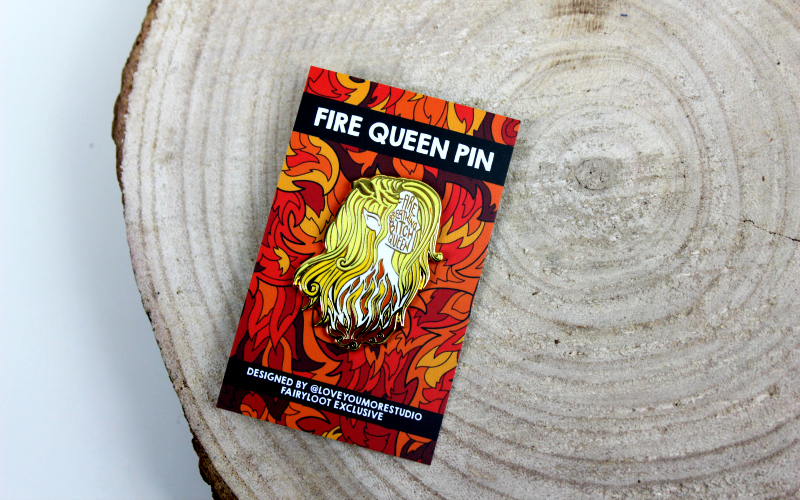 Fire Breathing Queen Pin