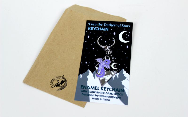 Keychain Even the Darkest of Stars