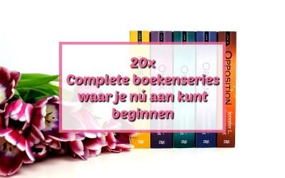 20x Complete boekenseries waar je nú aan kunt beginnen