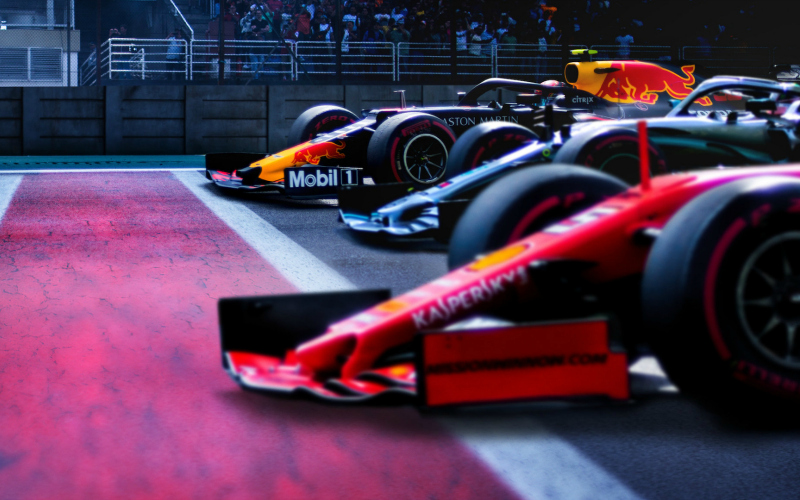 Formula 1 Drive to Survive still