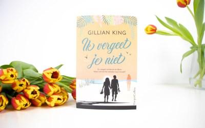 Boekrecensie | Ik vergeet je niet – Gillian King