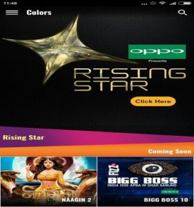 rising star voting colors tv android App download
