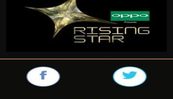 Rising Star Color TV App to vote