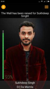 Sukhdeep Singh Rising Star 2017 contestant Image