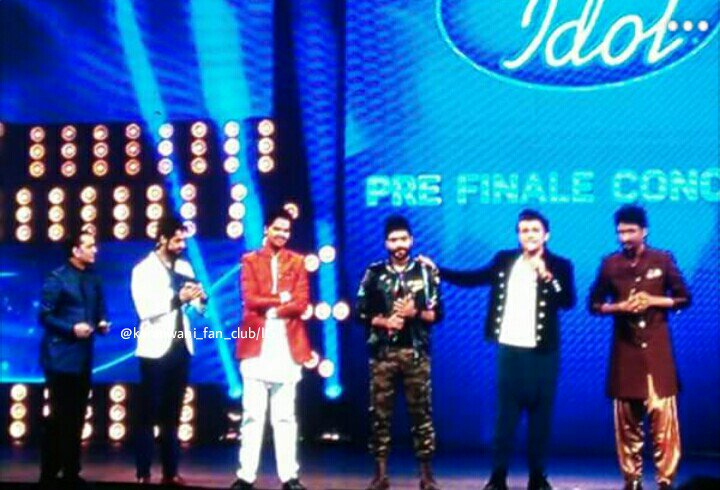 Top 3 Idol Top 3 contestant of Indian Idol 2017