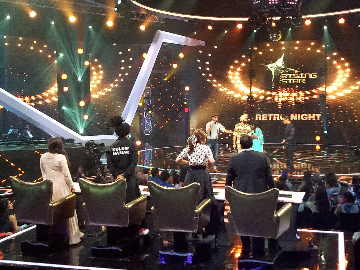 Rising star india retro special episode with elimination of Afsana khan