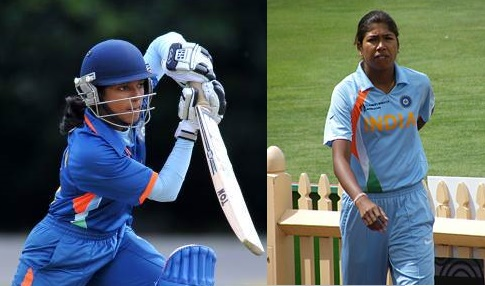 Punam-Raut and Jhulan Goswami star in WC 17