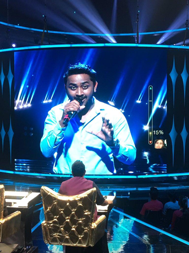 Dr Sudeep Ranjan Rising Star 2018 contestant performance