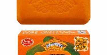 Asantee Papaya And Honey Soap