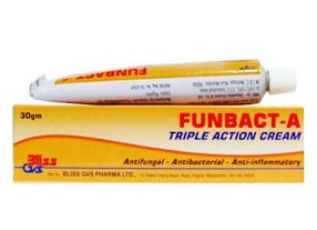 Funbact A Triple Action Cream